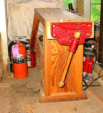 Here Is The Smallest Sawhorse. I Call It The Sawhorsie. It Was Made To Toss  Up Into The Rafters Or General Construction Work. I Originally Made A  Companion ...