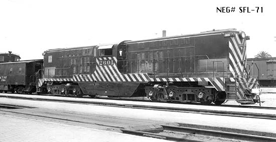 Santa Fe Locomotives